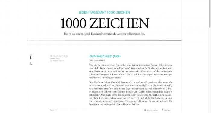 1000 Zeichen Lesung Gruenspan MitVergnügen Hamburg