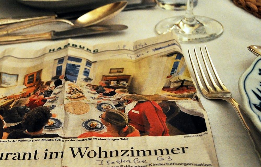 Zu Tisch Monika Mit Vergnügen Hamburg