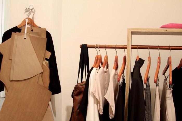 Im Laden entstehen auch die Schnitte für neue Kollektionen