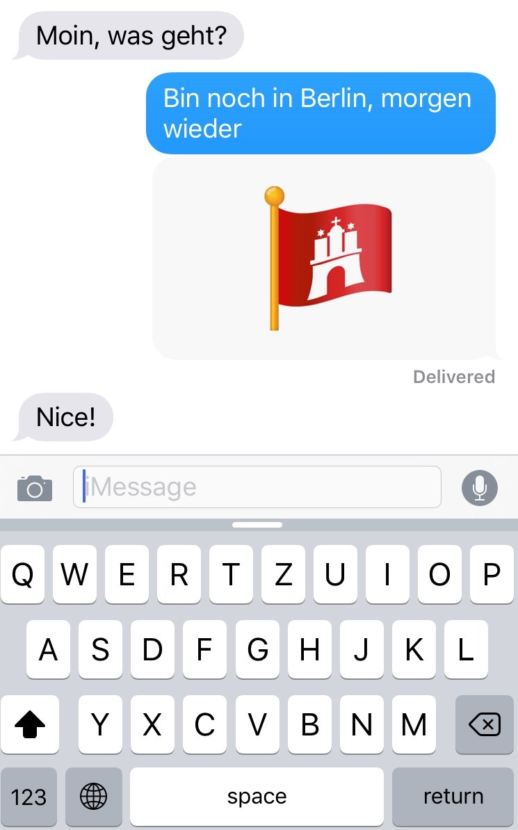 Hamburg Hat Jetzt Eigene Emojis Mit Vergnügen Hamburg