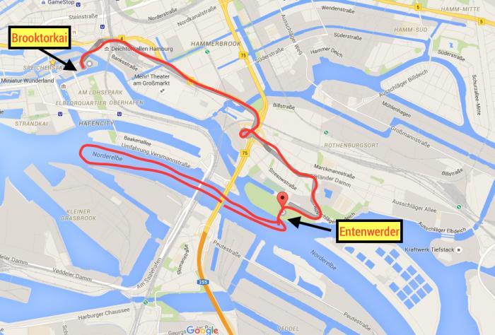 Hafencity Karte