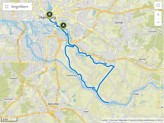 Zollenspieker Fahrradtouren Hamburg