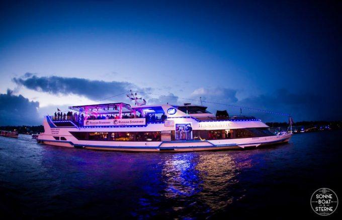 Samstag, 28.07. Sonne, Boat und Sterne - Hamburger Hafen