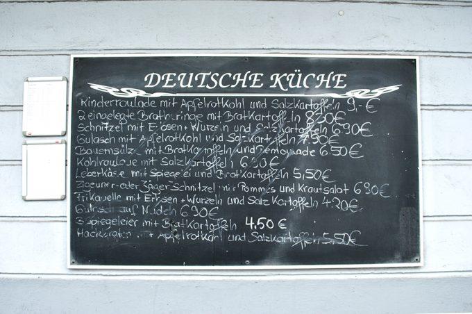 Hamburg Speisekarte