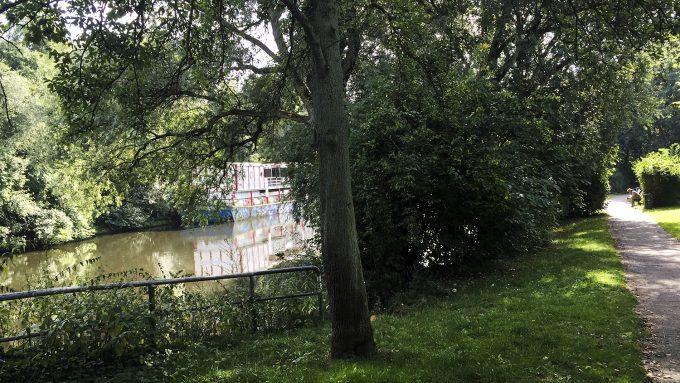 Isebekkanal Orte Hoch 3 Hoheluft Hamburg