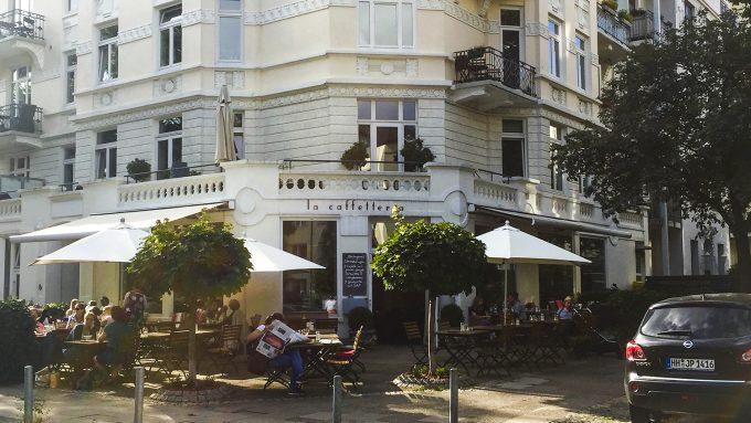 La Caffeteria Orte Hoch 3 Hoheluft Hamburg