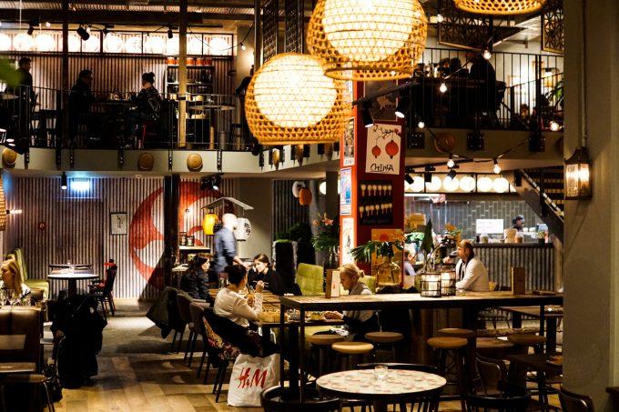 Authentische südost-asiatische Küche in der Innenstadt ...