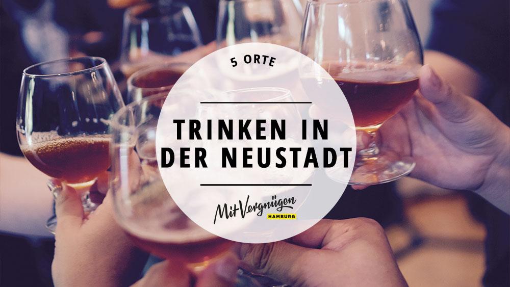 5 Bars in der Neustadt, in denen ihr euch gepflegt