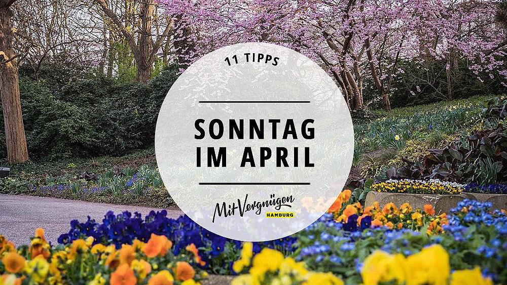 Sonntag im April Titelbild
