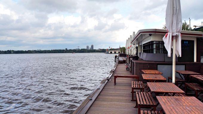 WasserMit Hamburg Am Orte Abendessen 11 Zum Vergnügen KTJlF1c