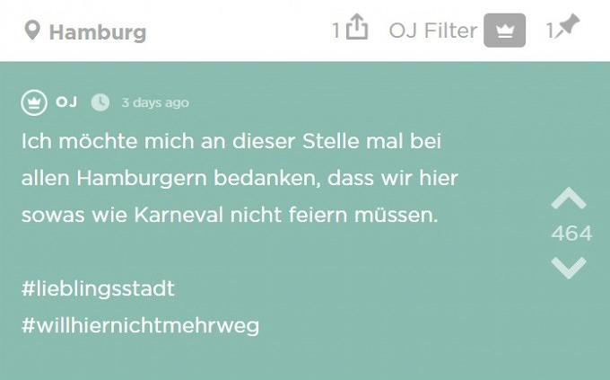 """Die Woche in Hamburg in 11 Jodel – """"Impfgegner und die S21 ..."""