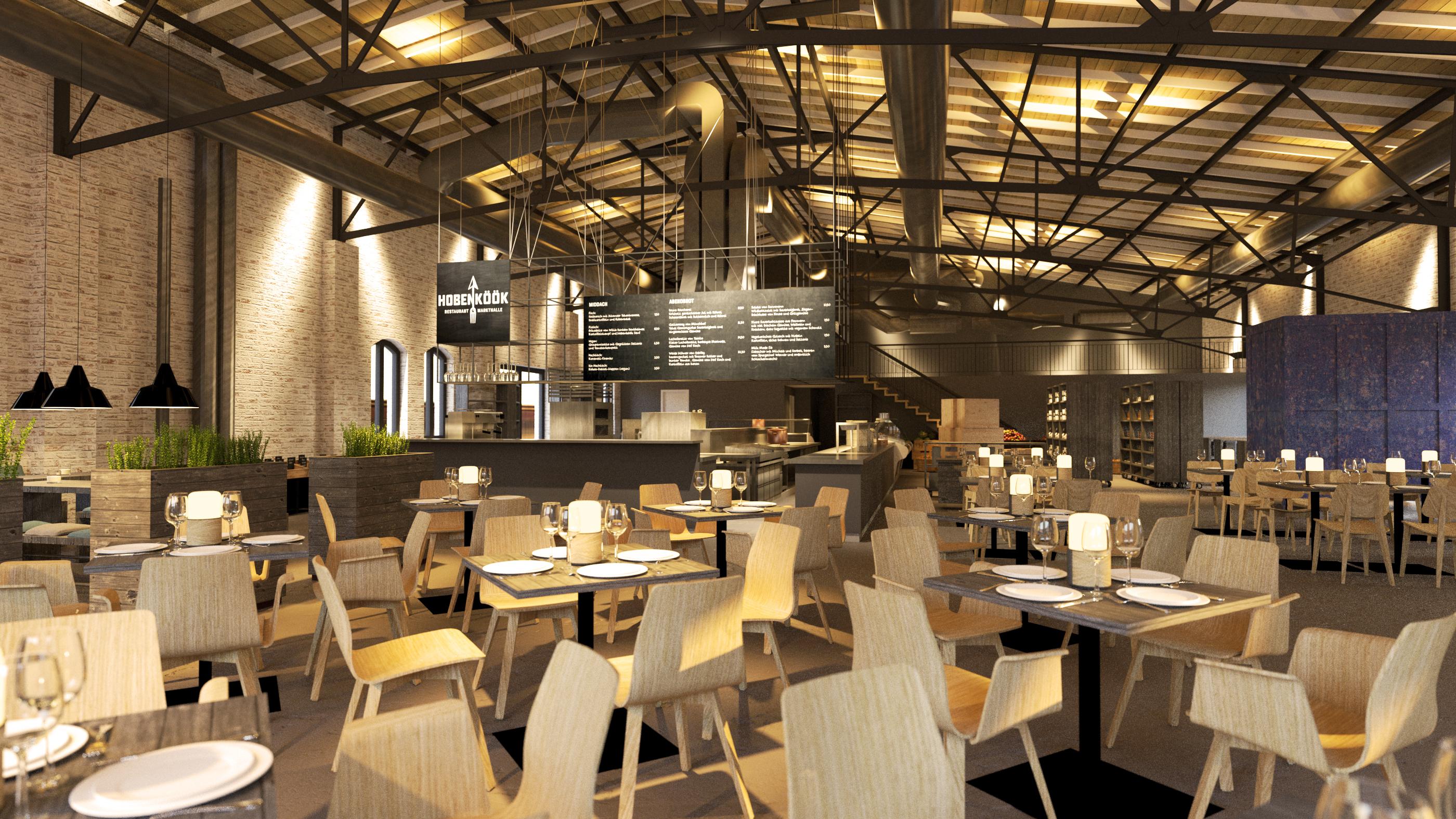 restaurant trifft auf markthalle das soft opening der hobenk k mit vergn gen hamburg. Black Bedroom Furniture Sets. Home Design Ideas