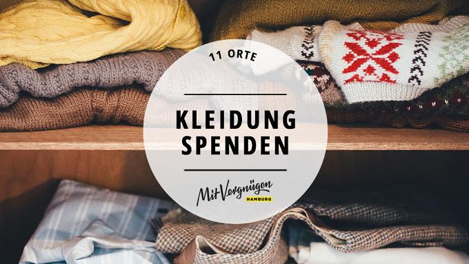 11 Orte An Denen Du Kleidung Spenden Kannst Mit Vergnügen Hamburg
