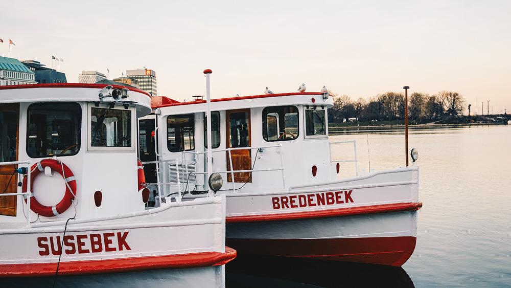 Bootsfahrt Jungfernstieg