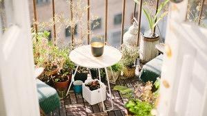Deko, Balkon, Sonne