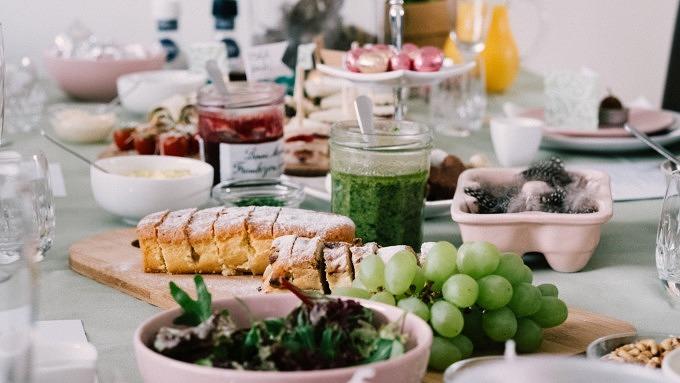 Brunch, Frühstück, Osterbrunch