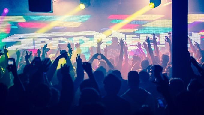 Party, Feiern, Menschen tanzen